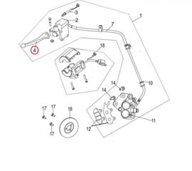 Neco Abruzzi - Remhendel LINKS (nr. 4) - (M43100-J23-0000)