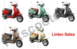 Lintex Salsa - Kappen (mail welke U nodig heeft !)