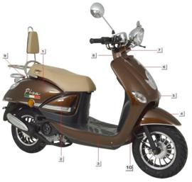 Turbho RS-50 / Pisa - Voorkap (nr. 5) - JN50QT-11D-01-03(BZ8114)