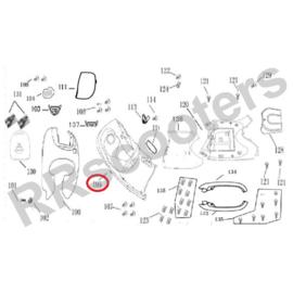 BTC Milano - Beenschild (nr. 105) (bruin) - M64304-JKC2-9000