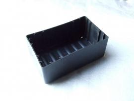 zwart kunststof accubak (VAK C-40)