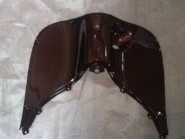 kappenset, Beenschild gelakt, kleur: Bruin Metallic (VAK E-5)