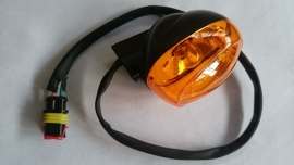 VOM Beau - richtingaanwijzer / knipperlicht ACHTER, links of rechts, ORANJE glaasjes - Type 1 -  (B-)