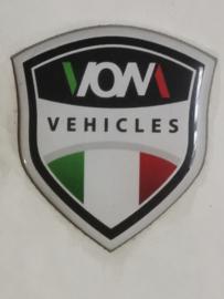 """Sticker """"VOM"""" ((VAK B)"""