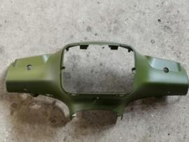 """Kappen - China LX -  Koplampkap """"S-type"""" - Kleur:  Mat Groen (VAK Z / 61-15)"""