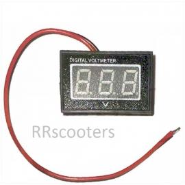 Voltmeter (digitaal-rood) 2,5-30 Volt (VAK B-22)