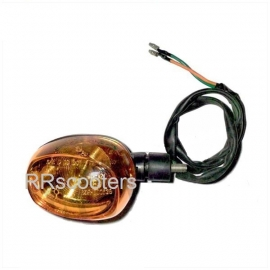 Knipperlicht / Richtingaanwijzer Pico LINKS ACHTER met oranje glas (VAK P-15  + B-169)