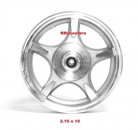 3 - velg achterwiel 2.15 X 10 inch