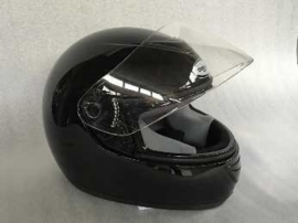 Helm - Integraal - kleur: zwart (demo) - maat: XS (50 cm.)