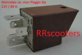 Piaggio Zip - Startrelais (12V. - 80A.) - M_91461 - (VAB B-19)