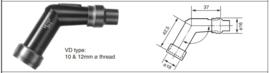 NGK RETRO bougiedop LANG - VD05F (VAK B-24/b)