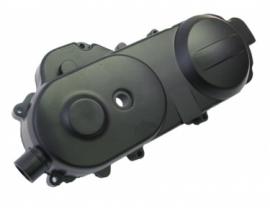 kickstartdeksel / variodeksel links zwart 10 inch. / Carterdeksel (G-189298) (VAK D-9)