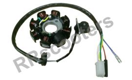 Razzo Milano - Ontsteking - (Generator - Dynamo) 5-draden (VAK B-33 + D-1)