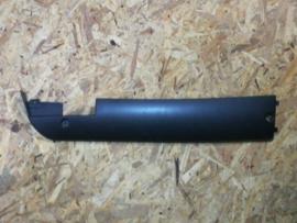 VOM F8 - Side-Skirt - RECHTS onder voetplaat - Kleur: mat zwart