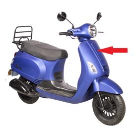 BTC Riva 1 - Voorkap - Kleur: mat blauw