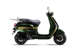 Neco Azurro GP  - British Green (125cc.) EFI (Euro 4)