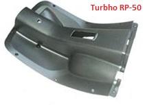 Turbho RP-50 / Beenschild zwart kunststof (HT50QT-41A-08-01)