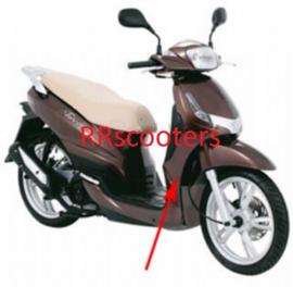 Peugeot Tweet - Voorscherm ONDER (P_60502) - bruin j7 orig 801983j7