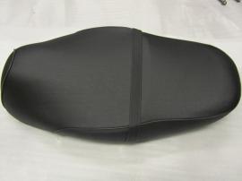 1 - Zadel (kleur: zwart) zonder logo (structuur) (VAK A + VAK Z)