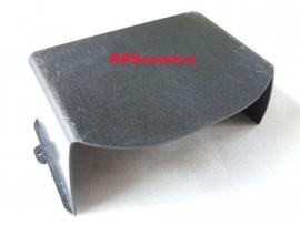 3- zwart kunststof accu afdekking (LAAG) (VAK B-67 + C-039)