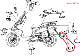 Razzo SR-50 / Bobine - QBK-35200-0000