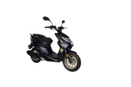 GTS Enzo Naked -  Mat Carbon Black - DELPHI INJECTIE
