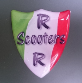 RRscooters  Dome-sticker