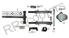 Turbho RL-50 - Balhoofdlagerset - nr. 4 - HT125T-12-07-04