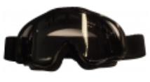 Accessoire - APLUS - BRIL CROSS ZWART TRANSPARANT GLAS - 2008z