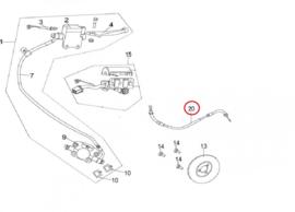 Neco Abruzzi (125cc.) - Gaskabel (nr. 20) - 125T-E-020600 (VAK C top)
