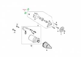 Pakking nr. 12 - O-ring oliepomp (VAK B-114)
