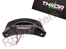 "Vespa Sprint / Kentekenplaatverlichting LED ""THNDR""-  Glans Zwart - 067005"