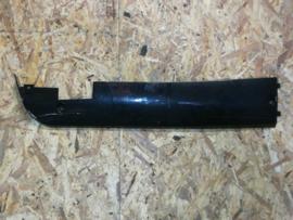 VOM F8 - Side-Skirt - RECHTS onder voetplaat - Kleur: zwart