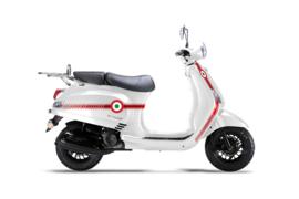 Neco Azurro GP  - White Racing (125cc.) EFI (Euro 4)