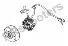 Razzo Venice (125cc) - Ontsteking / Generator (111000-152QMI-0000)
