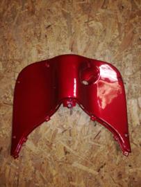 8 - Retro kappenset, Beenschild gelakt, kleur: Bordeaux Rood (CNSY - 81132-SGA9-9000) - (VAK Z))