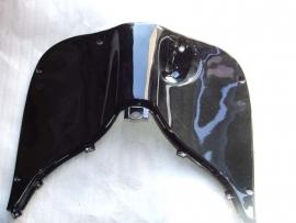 kappenset, Beenschild gelakt, kleur: Zwart  (VAK E-6)