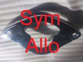 Sym Allo - Chroom onder stuur (set !)