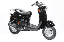 ZN50QT-A/B - Zadel (zwart)