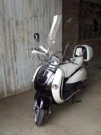Neco Borsalino DUE 125cc - Windscherm hoog