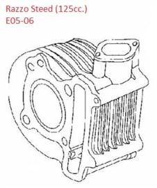 Razzo Steed (125cc) - Cilinder - (E05-06)