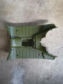 Kappen - China LX -  Voetplaat - Kleur:  Mat Groen (VAK Z / 61-15)