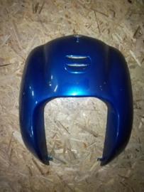 5 - Retro - kappenset - voorfront/voorkap - U-grille - Kleur: blauw