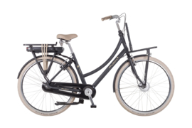 PUCH E-Rock / Coal Matt Black / Lady / 2 versnellingen