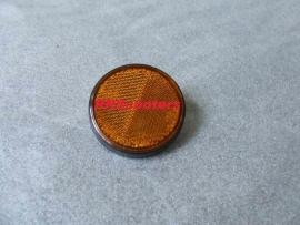 63 - Reflector rond oranje (VAK B-34 + W)