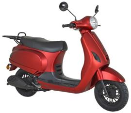 China LX - Kappenset compleet -  (kleur: mat rood)