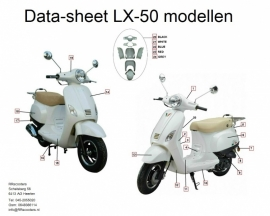 China LX - Stuurkap km-teller - kap nr. 1 (kleur: diversen) bestnr: 32300
