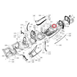 BTC CEO - Voetplaat (nr. 94) - (VET 092)