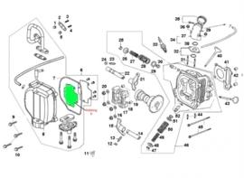 Pakking nr. 6 - SLS in kleppendeksel (VAK B-114)