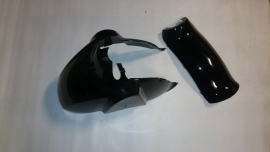 Bellagio / Designo / Fino / Lambretta Voor Spatbord 2-delig (kleur: zwart)